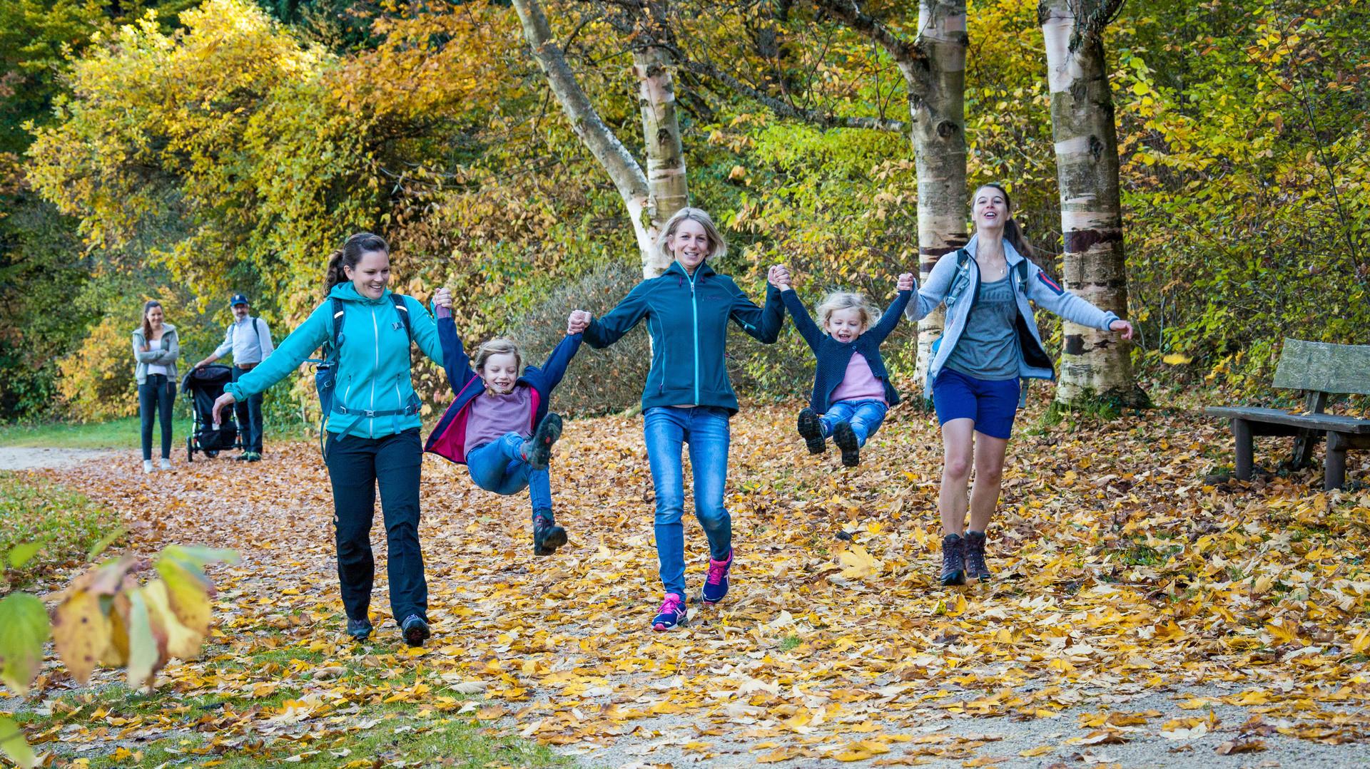 Familienferien im Herbst in Münsingen im Biosphärengebiet Schwäbische Alb.
