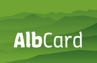 Das Logo der AlbCard.