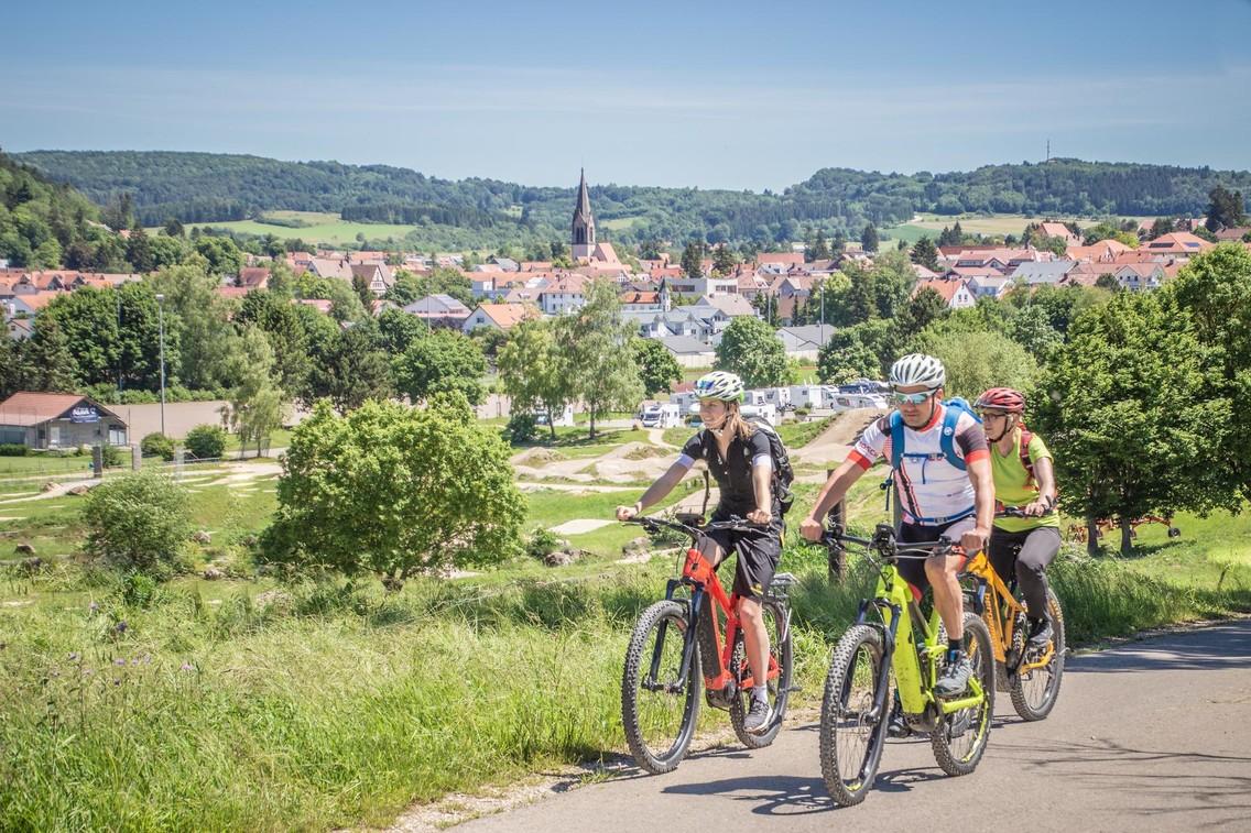 Münsingen ist das E-Bike Mekka des Biosphärengebiets Schwäbische Alb.