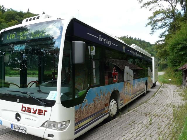 Linienbus Münsingen