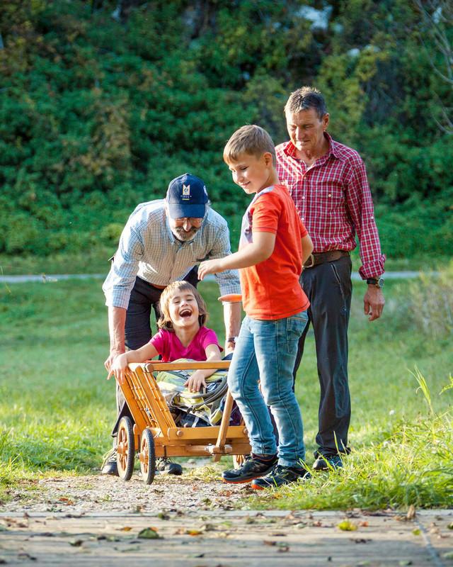 Familienferien im Großen Lautertal in Münsingen im Biosphärengebiet Schwäbische Alb.