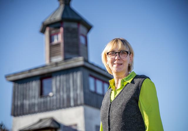 Diana Krause vom Team der Touristik Information Münsingen.